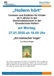 """""""Hollern hört…   Ein komischer Vogel"""""""
