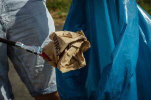 Müllsammel-Aktion