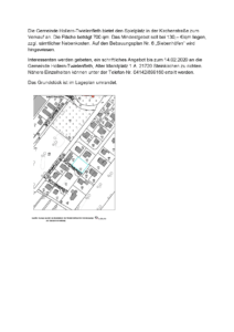 Grundstücksverkauf in Hollern-Twielenfleth