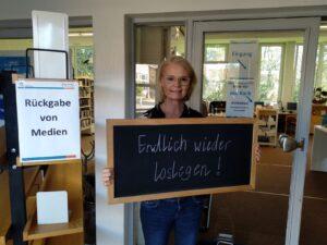 Endlich legt die Bücherei wieder los…