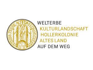 Logo Welterbe Kulturlandschaft Hollerkolonie Altes Land